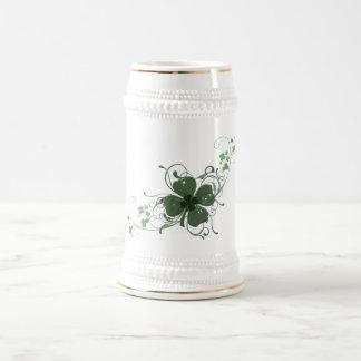 Elegant Shamrock Design Coffee Mug