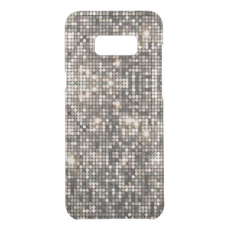 Elegant Silver Disco Glitter Background Uncommon Samsung Galaxy S8 Plus Case