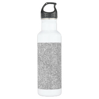 Elegant Silver Glitter 710 Ml Water Bottle