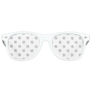 Elegant Silver Glitter Polka Dots Pattern