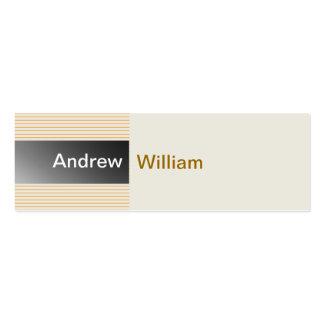 Elegant Silver Grey Business Cards