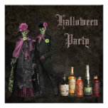 Elegant Skeletons & Poison Halloween Party