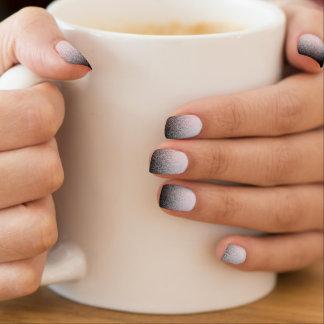 Elegant Smoky Gradient Lavender Pinocchio Minx ® Nail Art