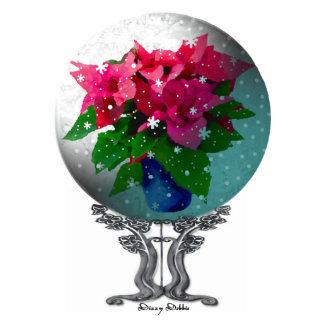 Elegant Snow globe Ornament Photo Sculpture Decoration