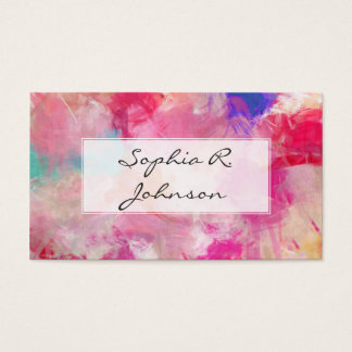 Elegant Soft Pink Abstract Spring Flowers