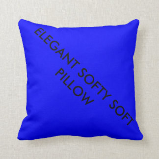 Elegant softy soft polyester throw pillow