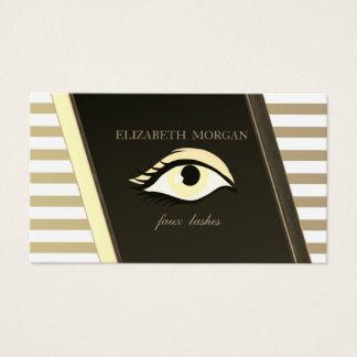 Elegant Sophisticated Stylish,Striped ,Eye Business Card