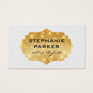 Elegant Sparkle / Wind Pattern Business Card