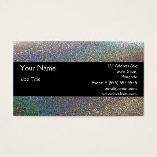 Elegant Sparkles & Glitter Business Card