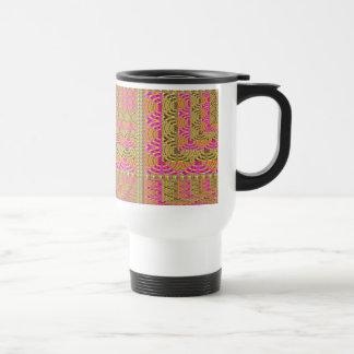 ELEGANT Spiral Diamond Waves in Layers Coffee Mugs