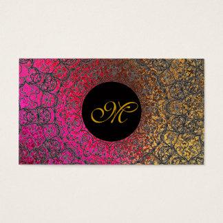 Elegant Spring Wedding Grunge Stylish Bride Girly Business Card