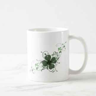 Elegant St. Patrick's Day Shamrock Design Art Coffee Mug