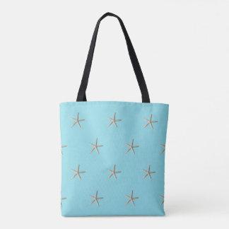 Elegant Starfish Beach Tote Bag