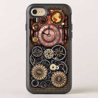 Elegant Steampunk Vintage Timepiece OtterBox Symmetry iPhone 8/7 Case