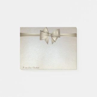 Elegant Stylish, Bow Post-it Notes