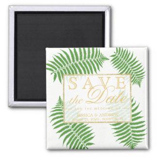 Elegant Stylish Bracken Wedding Magnet