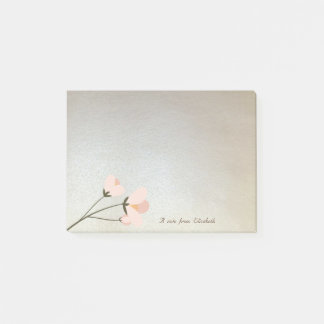 Elegant Stylish,Flower Post-it Notes