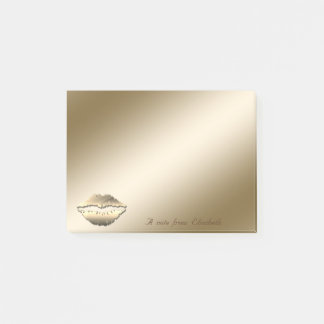 Elegant Stylish,Girly,Lips Post-it Notes