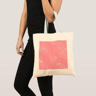 Elegant stylish girly rose gold marble look pink tote bag