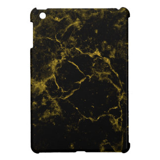 elegant stylish modern chic black and gold marble cover for the iPad mini