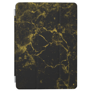 elegant stylish modern chic black and gold marble iPad air cover