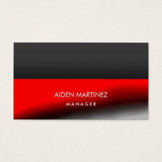 Elegant Stylish Red Dark Gray Professional