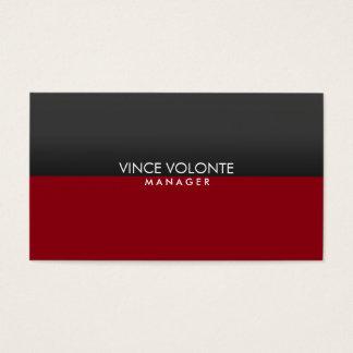 Elegant Stylish Red Gray Professional