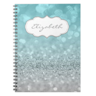 Elegant Stylish ,Shiny , Glittery Bokeh Notebooks