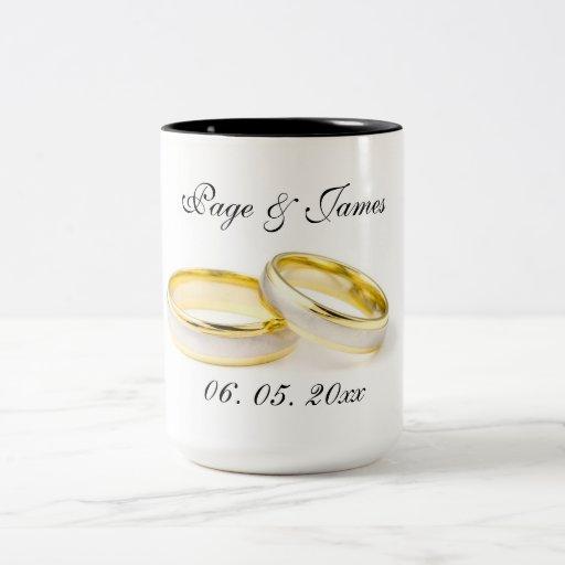 Elegant & Stylish Wedding Parties Mugs