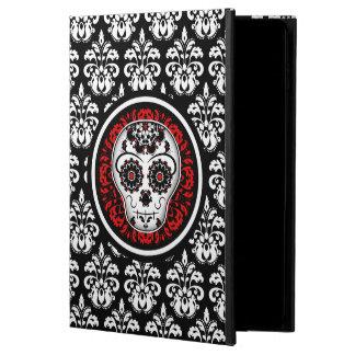 Elegant sugar skull damask powis iPad air 2 case
