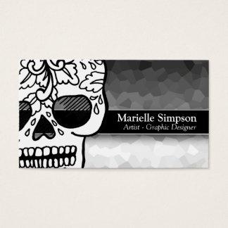 Elegant Sugar Skull Magic Ombre Fashion Boutique