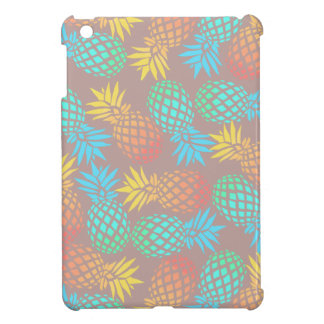 elegant summer tropical colorful pineapple pattern case for the iPad mini