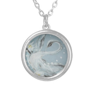Elegant Swan Necklace