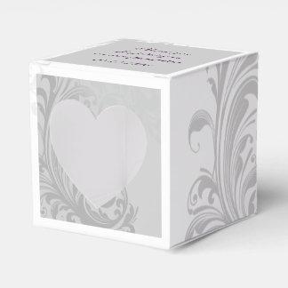 Elegant Swirl Favor/Gift Box