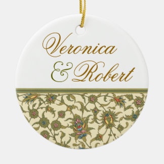 Elegant Tapestry Keepsake Ornament
