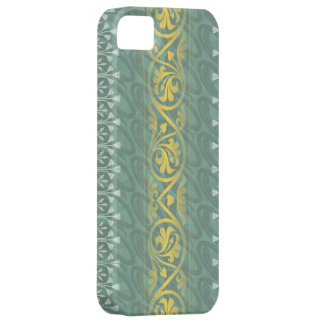 Elegant Teal Butter Damask Case-Mate iPhone 5 iPhone 5 Case
