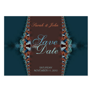 Elegant Teal Wedding and Invitations Card Business Card Templates