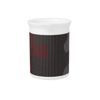 Elegant texture pitcher