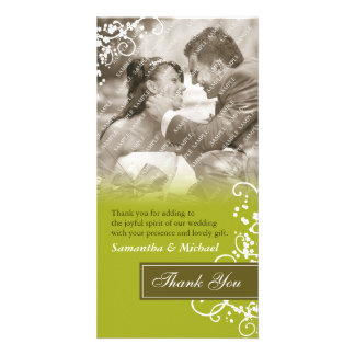 Elegant Thank You Photo Cards