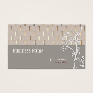 Elegant Tranquility Business card