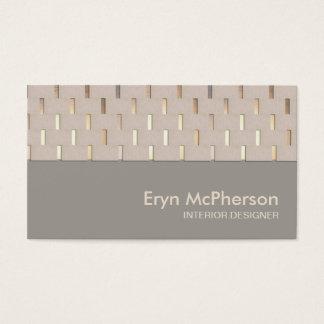 Elegant Tranquility Zen Modern Business card