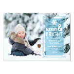 Elegant Transparency Holiday Photo Card Groupon Personalized Invitation