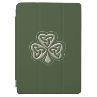 Elegant trendy lucky Irish shamrock iPad Air Cover