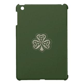 Elegant trendy lucky Irish shamrock iPad Mini Covers