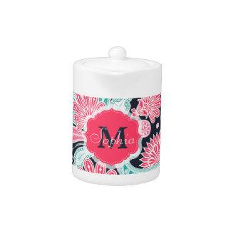 Elegant trendy paisley floral pattern illustration