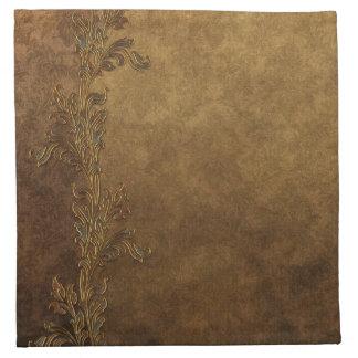 Elegant Tuscan Gold Napkins