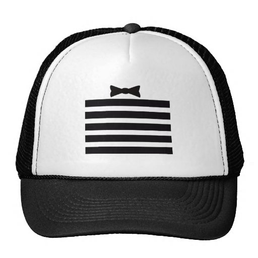 Elegant Tuxedo Black and With Pattern Gifts Trucker Hats