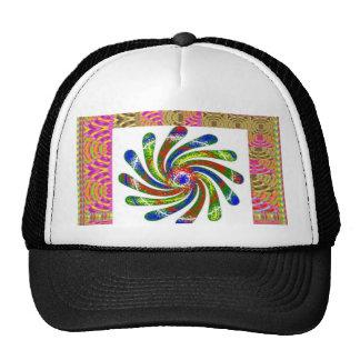 ELEGANT Twirl Wheel art Trucker Hat