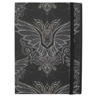 "Elegant vampire bat damask iPad Pro 12.9"" case"