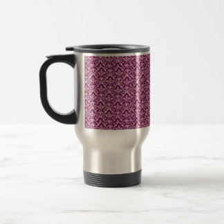 Elegant Victorian Damask Mug